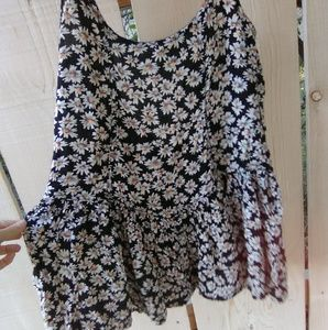 Brandy Melville Daisy low back mini dress tunic